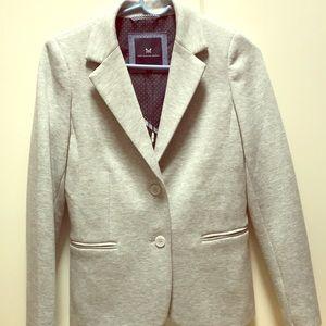 NWT J Crew Grey Soft Blazer Size 8